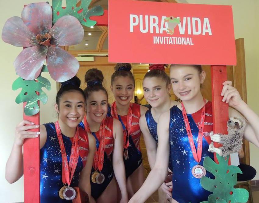 Participantes de Estados Unidos que el año pasado disfrutaron con decenas de atletas centroamericanas.
